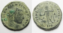 CONSTANTINE I AE FOLLIS. AS FOUND . NICE QUALITY