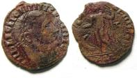 Ancient Coins - LICINIUS I AE FOLLIS, BARBARIC