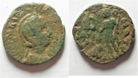 Ancient Coins -  Phoenicia. Tyre under Salonina (AD 253-268). AE 27mm, 12.78g.