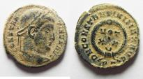 Ancient Coins - CONSTANTINE I AE 3 . NICE DESERT PATINA
