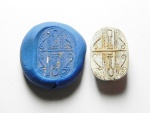 Ancient Coins - ANCIENT EGYPT - ANCIENT EGYPT, STEATITE STONE SCARAB, NEW KINGDOM , 18TH DYNASTY , 1400 B.C