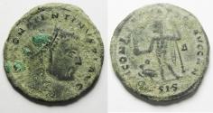 Ancient Coins - CONSTANTINE I AE FOLLIS. AS FOUND . NICE QUALITY