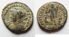 Ancient Coins - LICINIUS II AE 3 . AS FOUND