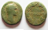 Ancient Coins - JUDAEA. SEPPHORIS . TRAJAN AE 26