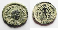 Ancient Coins - THEODOSIUS I AE 4