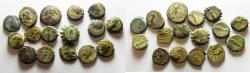 Ancient Coins - GREEK. LOT OF 16 MIXED ANCIENT BRONZE COINS
