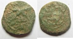 Ancient Coins - JUDAEA, ANTONIUS FELIX 52-59 AD. AE PRUTAH