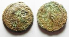 Ancient Coins - GREEK. Ptolemaic Kingdom. Ptolemy V or Ptolemy VI (204-180 BC or 180-145 BC). AE 28