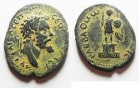 Ancient Coins - CHOICE FOR THE TYPE: DECAPOLIS. ARABIA. RABBATHMOBA. SEPTIMIUS SEVERUS AE 29