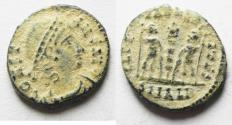 Ancient Coins - BEAUTIFUL AS FOUND CONSTANS AE 4 . ALEXANDRIA