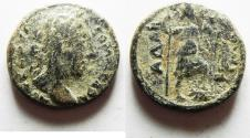 Ancient Coins - DECAPOLIS. GADARA. COMMODUS AE 21. AS FOUND
