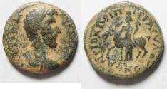 Ancient Coins - DECAPOLIS, ARABIA. HIPPUM, LUCIUS VERUS AE 25