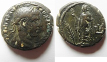 Ancient Coins - Egypt. Alexandria under Severus Alexander (AD 222-235). Potin tetradrachm (23mm, 11.25g). Struck in regnal year 11 (AD 231/2).