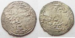 Ancient Coins - RASULIDS OF YEMEN: SILVER DIRHAM . 1321 - 1363 A.D