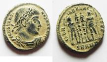 Ancient Coins - ORIGINAL DESERT PATINA. CONSTANTINE I AE 3