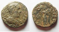Ancient Coins - PHOENICIA. TYRE. VALERIAN I AE 27. NIKE