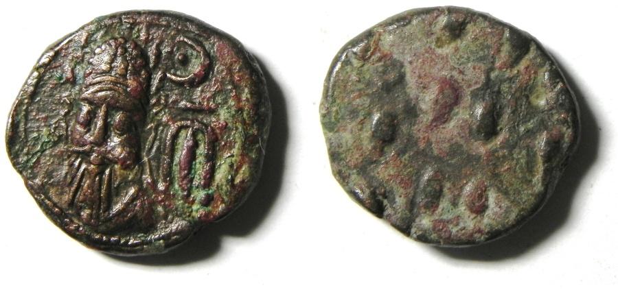 Ancient Coins - Elymais Kingdom, Kamnaskires - Orodes Ae Drachm , Early mid 2nd century AD
