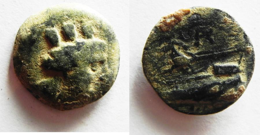 Ancient Coins - PHOENICIA. ARADOS. 1ST CENT. A.D AE 15