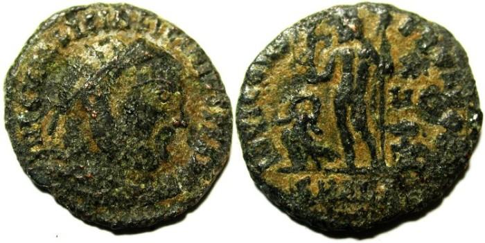 Ancient Coins - LICINIUS I AE FOLLIS, AS FOUND