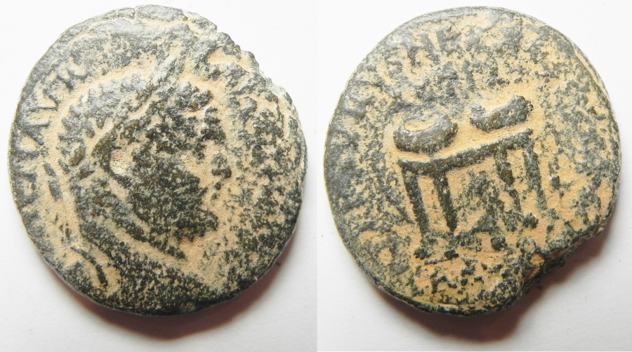 Ancient Coins - PHOENICIA. TYRE. CARACALLA AE 25