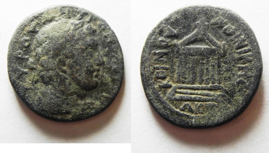 Ancient Coins - PHOENICIA, Tyre. Pseudo-autonomous issue. 2nd century AD. Æ Dichalkon