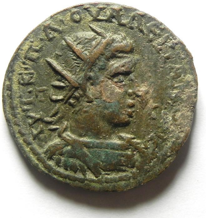 Ancient Coins - Cilicia , Tarsus , VALERIAN I AE 30
