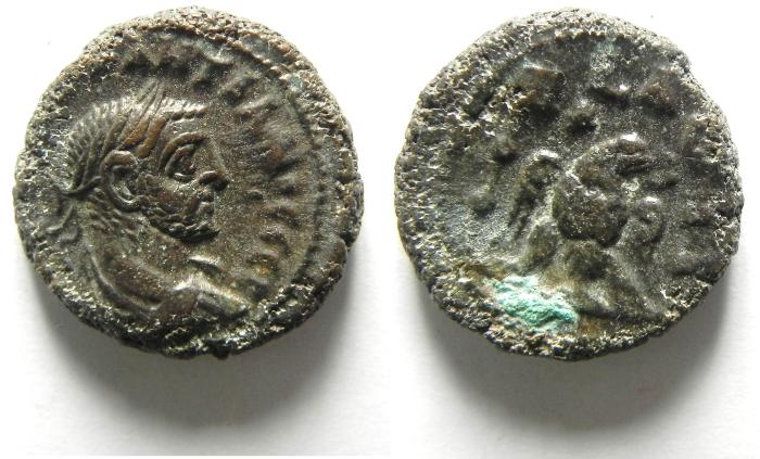 Ancient Coins - ALEXANDRIA , EGYPT , POTIN TETRADRACHM