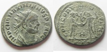 Ancient Coins - MAXIMIANUS AE ANTONINIANUS . AS FOUND