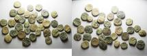 Ancient Coins - AS FOUND. NABATAEAN KINGDOM. LOT OF 35 AS COINS. NICE QUALITY
