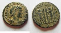 Ancient Coins - BEAUTIFUL DESERT PATINA. CONSTANTINE II AE 3