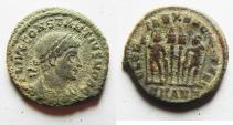 Ancient Coins - CONSTANTIUS II AE 3 . NICE AS FOUND