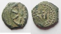 Judaea, Alexander Jannaeus, 103-76 BC, AE Prutah. WIDOW'S MITE