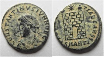 Ancient Coins - CONSTANTINE II AE 3 . ANTIOCH