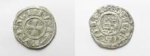 World Coins - MEDIEVAL. Crusader States. Kingdom of Jerusalem. Baldwin III (1143-1163). Billon denier