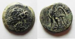 Ancient Coins - PTOLEMAIC KINGDOM. PTOLEMY II AE 18