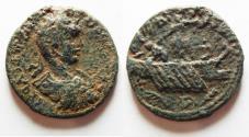 Ancient Coins - PHOENICIA. TYRE. ELAGABALUS AE 27