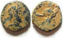 Ancient Coins - ARABIA - PETRA , SEPTIMIUS SEVERUS AE 20