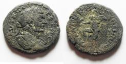 Ancient Coins - ARABIA. RABBATHMOBA UNDER GETA AE 24.