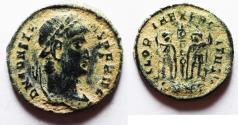 Ancient Coins - CONSTANS  AE 4 . ORIGINAL DESERT PATINA