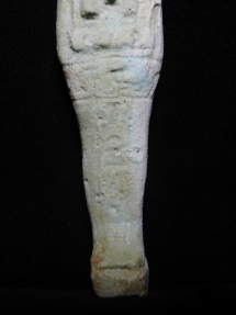 Ancient Coins - ANCIENT EGYPT . BEAUTIFUL ANCIENT FAIENCE USHABTI , 600 - 300 B.C. TRACES OF HIEROGLEPHS