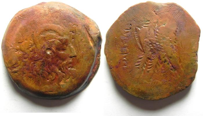 Ancient Coins - PTOLEMAIC KINGDOM , AFFORDABLE AE 34 ,  32.33 GM