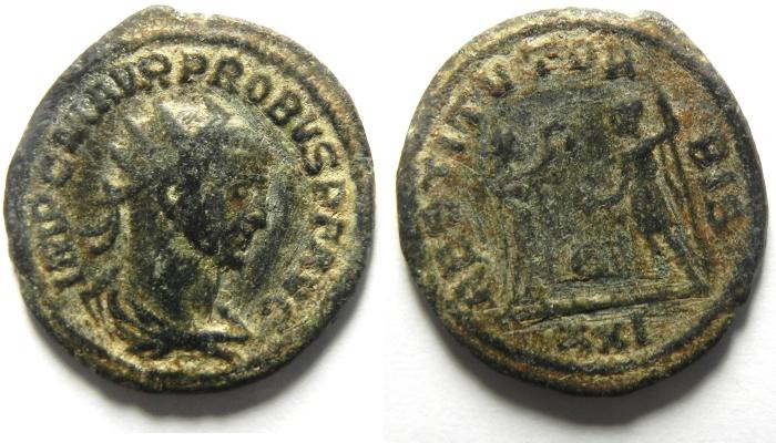 Ancient Coins - PROBUS ANTONINIANUS AS FOUND