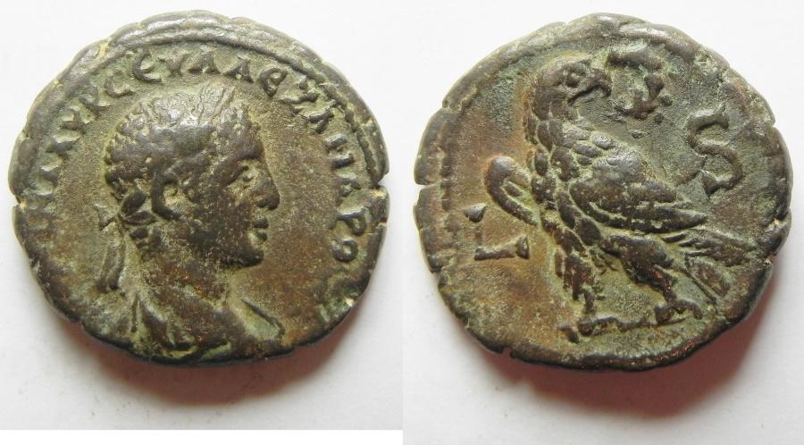 Ancient Coins - EGYPT, Alexandria. Severus Alexander. AD 222-235. Potin Tetradrachm .