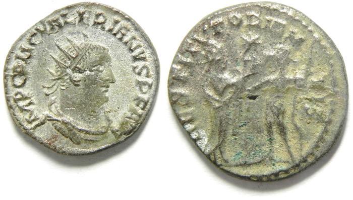 Ancient Coins - Valerian I: A.D. 253-260. Billon , Antoninianus