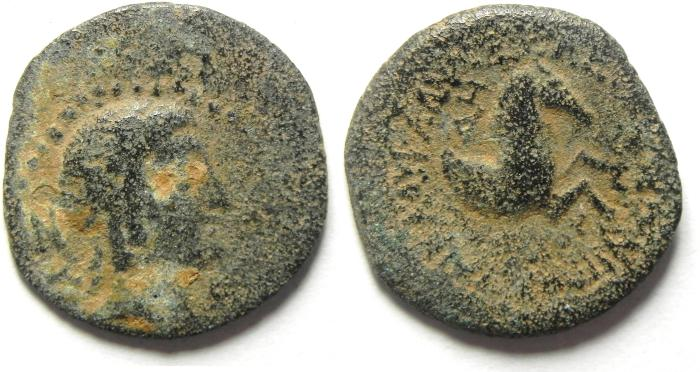 Ancient Coins - Greek. AE 18mm. Cilicia. Seleukeia on the Kalykadnos. Struck second-first centuries BC.