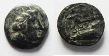 Ancient Coins - PHOENICIA. ARADOS. 1ST CENT. A.D AE 17