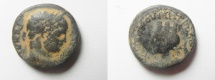Ancient Coins - ROMAN PROVINCIAL. Syria, Coele Syria. Damascus under Caracalla (AD 198-217). AE 20mm, 8.54gm.