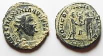 Ancient Coins - NICE AS FOUND MAXIMIANUS AE ANTONINIANUS