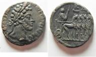 Ancient Coins - Egypt. Alexandria under Commodus (AD 177-192). Billon tetradrachm (25mm, 9.98g).