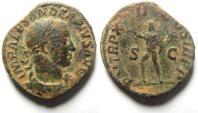 Ancient Coins - SEVERUS ALEXANDER SESTERTIUS